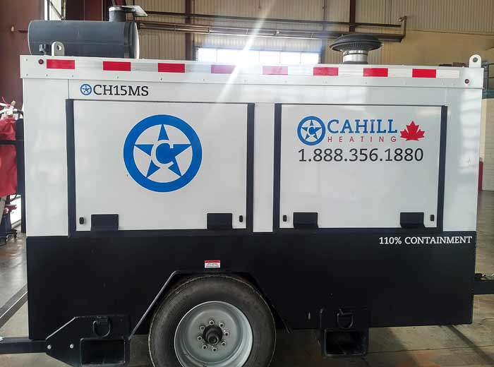 Cahill CH15MS Portable Industrial Heating