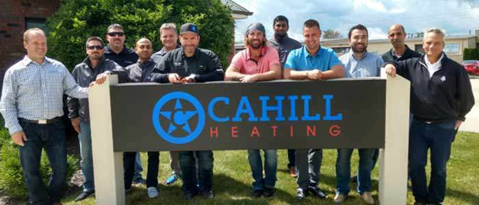 Cahill Heating Rentals service and storage facility - Chicago, Illinois